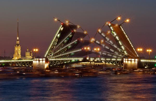 знакомство с мостами спб